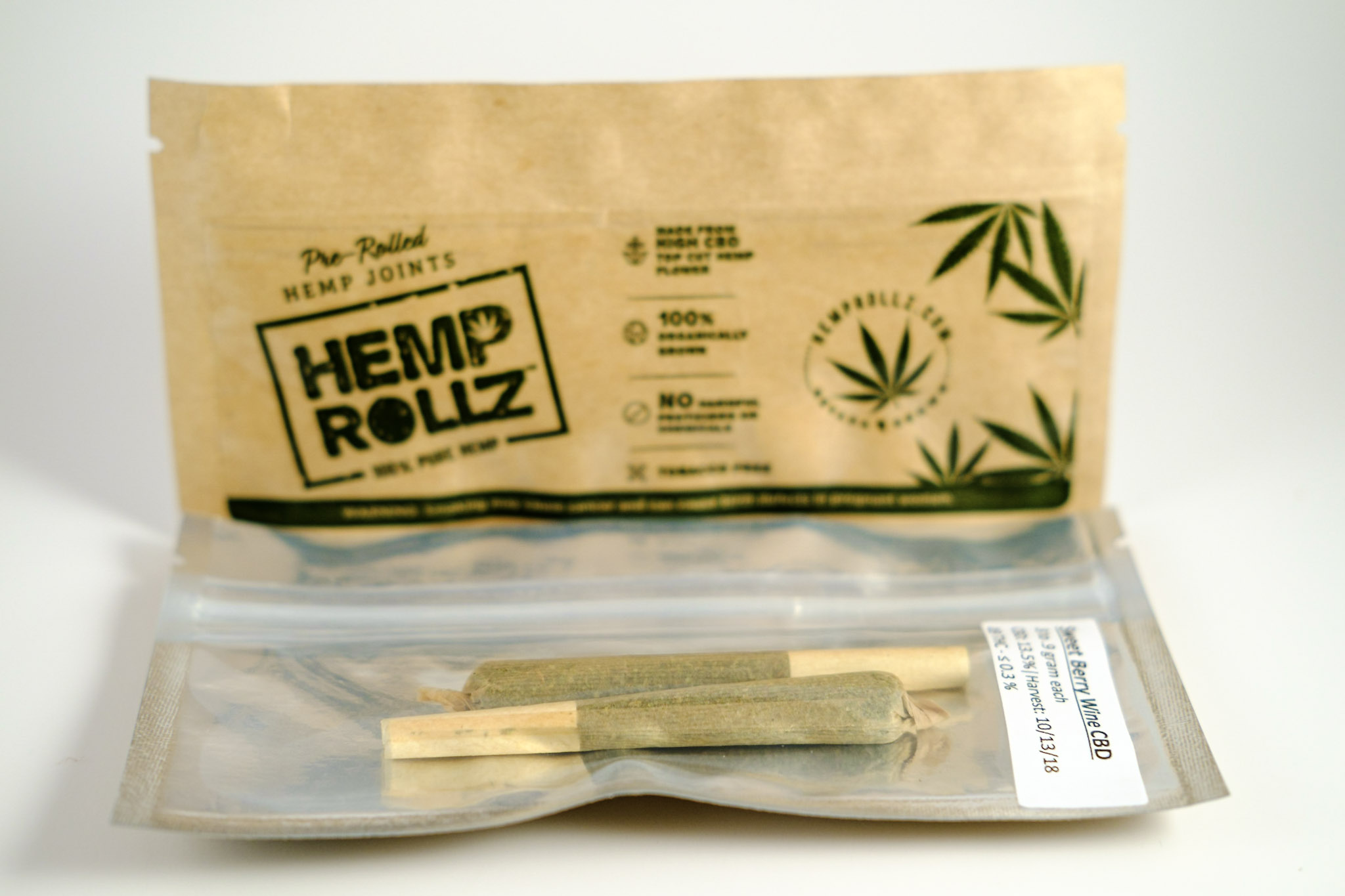 REGULAR SIZE PRE-ROLLS - DOUBLE PACK